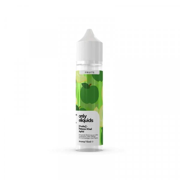 only eliquids - Fruits Melone Kiwi Apfel