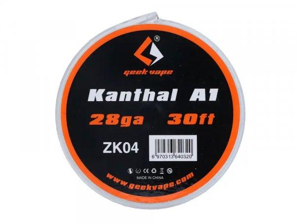 Geekvape Kanthal A1 Wickeldraht 9m 28GA ZK4