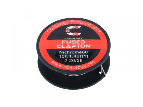 Coilology Fused Clapton Ni80 (3M pro Rolle)