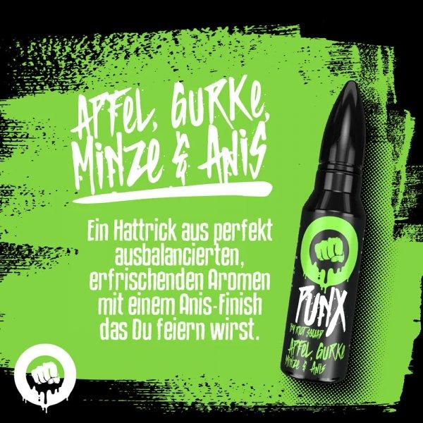 PunX by Riot Squad - Apfel, Minze, Gurke & Anis