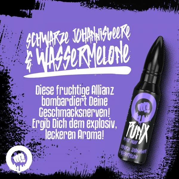 PunX by Riot Squad - Schwarze Johannisbeere & Wassermelone